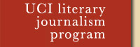 UCI literary journalism program